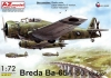AZ Model AZ7617 1/72 Breda Ba-65 A-80 Nibbio over Spain