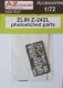 AZ Model AZA 7037 1/72 Zlin Z-242L  photoetched parts