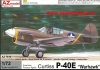 AZ model AZ 7410 Curtiss P-40E Warhawk  (1/72)