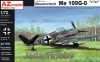 "AZ Model AZ 7545 1/72 Messerschmitt Me 109G-0 ""V-Tail"""