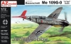 "AZ Model AZ 7547 1/72 Messerschmitt Me 109G-0 ""V-Tail"" Aces"