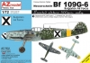AZ Model AZ7632 1/72 Bf 109G-6 Bulgarian Air Force