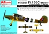 "AZ Model AZ 7638 1/72 Fi 156C Storch ""In Commander/VIP Service"""