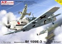"AZ Model AZ7658 1/72 Bf-109E-3 ""Battle of Britain"""
