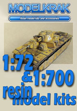 MODELKRAK - Resin ships and armour kits