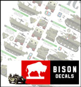 Bison Decals