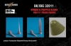 BitsKrieg BK32011 1/32 Spinner & Propeller blades  for PZL P.11C Polish Fighter (IBG 32001)