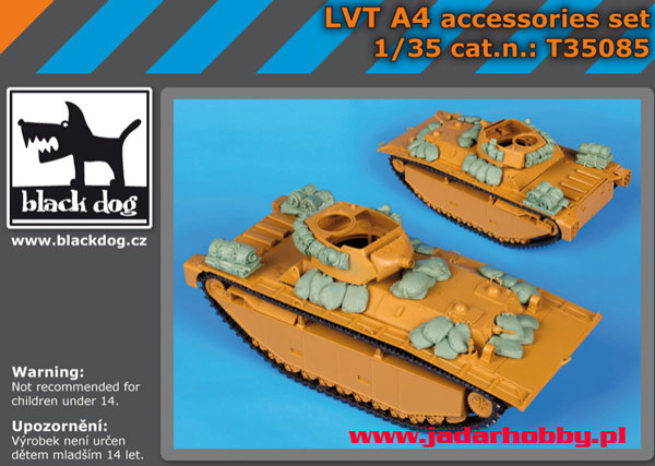 Black Dog T35083 British Cruiser Mk.II, accessories set (1/35)