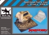 Black Dog D35026 (SALE) Destroyed Fuchs base (1/35)