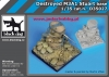 Black Dog D35027 (SALE) Destroyed M3A1 Stuart base (1/35)