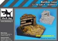 Black Dog D35031 (SALE) Bunker base (1/35)