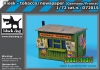 Black Dog D72015 (SALE) Kiosk-tobacco/newspaper (Germany/France) (1/72)