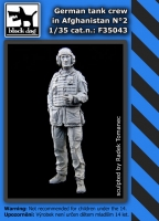 Black Dog F35043 German Tank Crew in Afghanistan #2 (1/35)