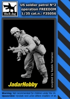 Black Dog F35056 US Soldier Patrol, Operation Freedom #2 (1/35)