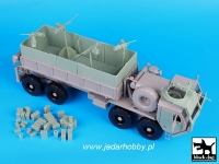 Black Dog T35071 1:35 M 977 HEMTT Gun truck conversion set