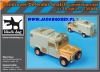 Black Dog T35086 Landrover Snatch Conversion Set (1/35)