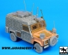 Black Dog T35092 Land Rover Defender Snatch Barracuda Conversion Set (1/35)