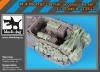 Black Dog T35125 1/35 M 4 mortar carrier accessories set N°2