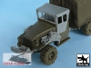 Black Dog T48048 US 1 1/2 ton Cargo Truck Traction devices (1/48