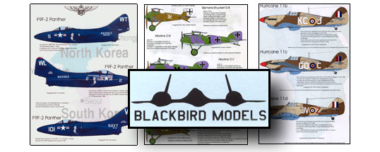 Blackbird Models