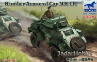 Bronco CB-35112 1/35 WWII Humber Scout Car Mk.I
