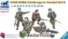 Bronco CB35131 1/35 WWII British Paratroops In Combat Set B