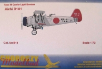 Choroszy B011 1/72 Type 94 Carrier Light Bomber Aichi D1A1