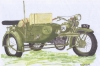 Choroszy V02 1/35 SOKÓŁ (FALCON) 1000 with SIDE CAR and Radio-Station