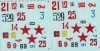 Colibri Decals 48003 1/48 Polikarpov I-153 (28 versions)