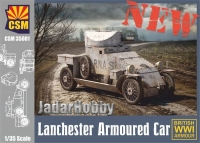 Copper State Models CSM35001 1/35 Lanchester Armoured Car