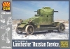 "Copper State Models CSM35003 1/35 Lanchester ""Russian Service"""