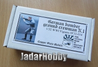 Copper State Models F32-014 1/32 German bomber ground crewman No.1