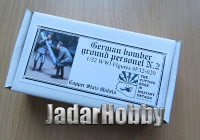 Copper State Models F32-020 1/32 WWI German bomber ground personnel No.2