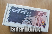 Copper State Models F35-007 1/35 WWI British RNAS Armoured Car Division Crewman with a bucket