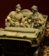 D-Day Miniature 35030 (BACKORDER) 1/35 Waffen SS Jeep Crew, Ardennes 1944