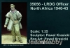 D-Day Miniature 35056 1/35 LRDG Officer North Africa 1940-43