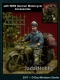 D-Day Miniature 35082 (BACKORDER) 1/35  HG Division Motorcycle Rider with accessories for motorcycle