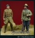D-Day Miniature 35087 (BACKORDER) 1/35 German Legion Condor Pzgruppe Drohne Officers