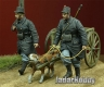 D-Day Miniature 35107 1/35 WWI Belgian Dog-drawn Cart with Crew 1914-15