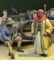 D-Day Miniature 35122 1/35 WWI Anzac soldier & Arab Warrior