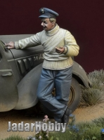 D-Day Miniature 35141 1/35  WWII Polish Fighter Pilot