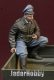 D-Day Miniature 35144 1/35  WWII Luftwaffe Fighter Pilot sitting