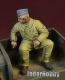 D-Day Miniature 35145 1/35 WWII Luftwaffe Bomber Pilot sitting