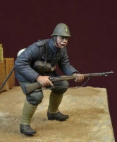 D-Day Miniature 35152 1/35 Black Devils Soldier 2, WWII Dutch Army 1940