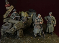 D-Day Miniature 35162 1/35 WWII Waffen SS big set, Ardennes 1944