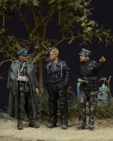 D-Day Miniature 72001 1/72 German Waffen SS Officers