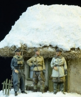 D-Day Miniature 72003 1/72 Waffen SS Officers Winter 1943-45