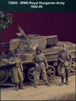 D-Day Miniature 72005 1/72 WW2 Royal Hungarian Army 1942-1945