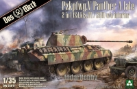 Das Werk DW35011 1/35 PzKpfwg.V Panther A late 2in1 ( SdKfz.171/268 )