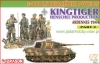 Dragon 7362 1/72 3rd Fallschirmjager Division + Kingtiger Part 2